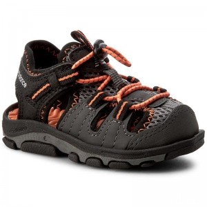 New Balance Sandalen K2029BON Black/Orange
