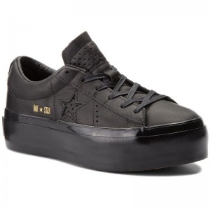 Converse Sneakers One Star Platform Ox 559898C Black/Black/Black