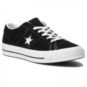 Converse Turnschuhe One Star Ox 158369C Black/White/White