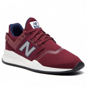 New Balance Sneakers MS247FG Dunkelrot