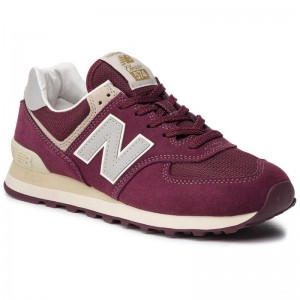 New Balance Sneakers ML574VLB Dunkelrot
