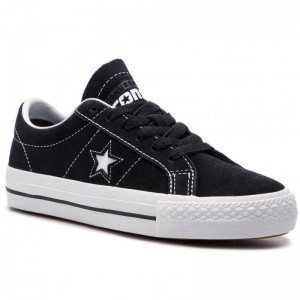 Converse Turnschuhe One Star Pro Ox Bl 159579C Black/White/White