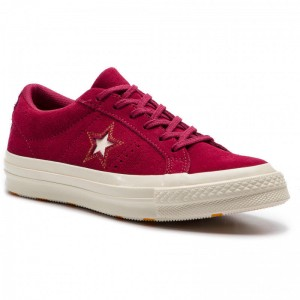Converse Turnschuhe One Star Ox 163192C Rhubarb/Field Orange/Egret