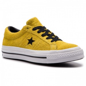 Converse Turnschuhe One Star Ox 163245C Bold Citron/Black/White