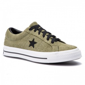 Converse Turnschuhe One Star Ox 163249C Field Surplus/Black/White