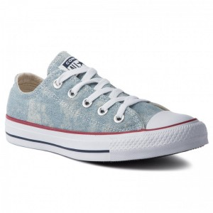 Converse Sportschuhe Ctas Ox 163959C Washed Denim/White/White