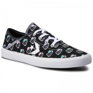 Converse Turnschuhe Costa Ox 564632C Black/Black/White