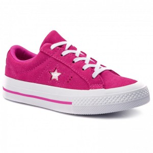Converse Turnschuhe One Star Ox 663588C Active Fuchsia/Active Fuchsia