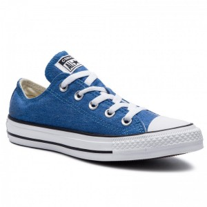Converse Sportschuhe Ctas Ox 164288C Totally Blue/White/Black
