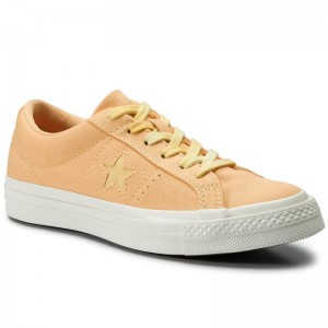 Converse Turnschuhe One Star Ox 564153C Melon Baller/Butter Yellow