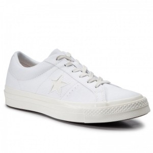 Converse Turnschuhe One Star Ox 564154C White/Natural Ivory/Egret