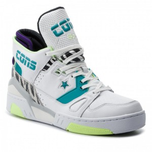 Converse Sneakers Erx 260 Mid 163783C White/Rapid Teal/Court Purple
