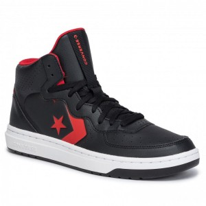 Converse Sneakers Rival Mid 164889C Black/Enamel Red/White