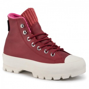 Converse Sportschuhe Ctas Lugged Winter Hi GORE-TEX 565007C Back Alley Brick/Habanero Red