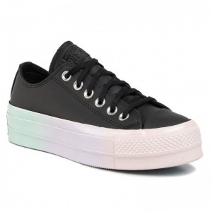 Converse Sportschuhe Ctas Lift Ox 566157C Black/White/Polar Blue