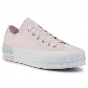 Converse Sportschuhe Ctas Lift Ox 566250C Barely Rose/Polar Blue