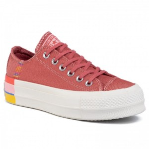 Converse Sneakers Ctas Lift Ox 564995C Coastal Pink/Light Redwood