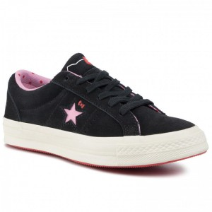 Converse Turnschuhe One Star Ox 162938C Black/Prism Pink/Egret