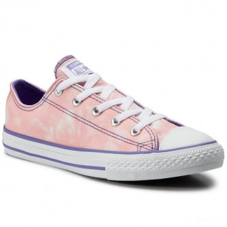 Converse Sportschuhe Ctas Ox Bleached C 664270C Bleached Coral/Wil