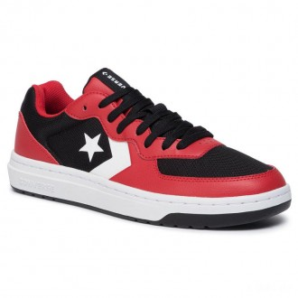 Converse Sneakers Rival Ox 164895C Black/Enamel Red/White