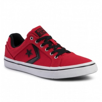 Converse Turnschuhe Courtland Ox 163204C Enamel Red/Black/White
