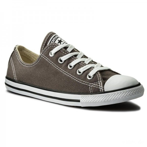 Converse Sportschuhe Ctas Dainty Ox 532353C Charcoal