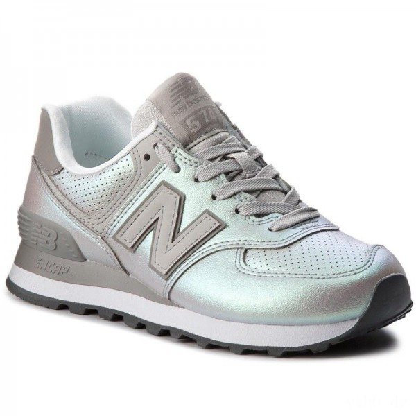 New Balance Sneakers WL574KSC Silber