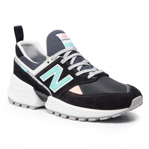 New Balance Sneakers MS574GNB Bunt Schwarz