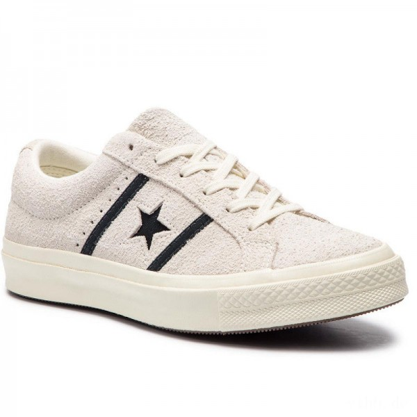 Converse Sneakers One Star Academy Ox 163269C Egret/Black/Egret