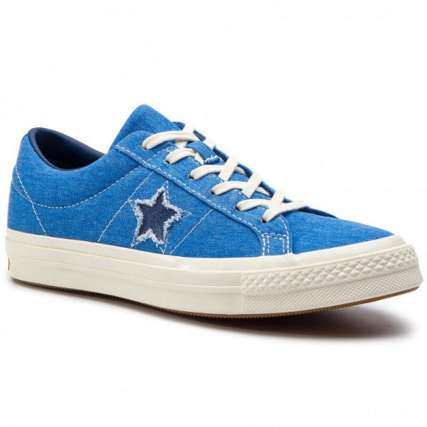 Converse Turnschuhe One Star Ox 164359C Totally Blue/Navy/Egret